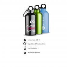 Gourde | Aluminium | Mousqueton | 400 ml | 92100002