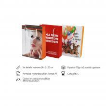 Sac papier de luxe | Format A4 | Quadrichromie | maxb019