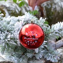 Boule de Noël colorée | Brillant | 80mm | 22001