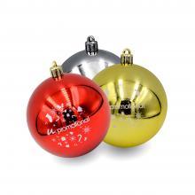 Boule de Noël colorée | Brillant | 80mm