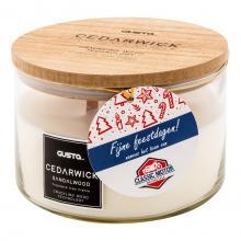 Bougie parfumée | Cedarwick | ø17 x H10 cm | Bois de santal