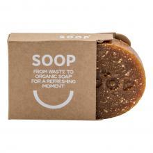 Soop | Savon fait de produits résiduels | Marc de café et pelures d'orange