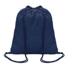 Sac à dos en coton | 100 gr/m2 | Coloré | 8798484 Bleu