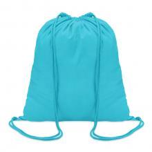 Sac à dos en coton | 100 gr/m2 | Coloré | 8798484 Turquoise
