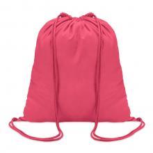 Sac à dos en coton | 100 gr/m2 | Coloré | 8798484 Fuschia