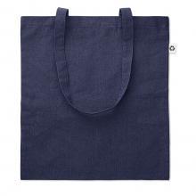 Sac en coton | Matière recyclé | 140 gr/m2 | 8759424 Bleu
