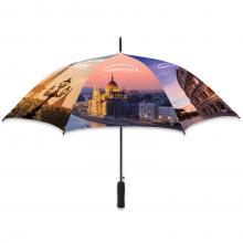 Parapluie   Quadrichromie   Automatique   Ø 102 cm