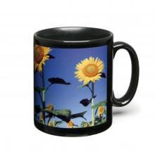 Mug quadrichromie | Céramique noir | 313 ml