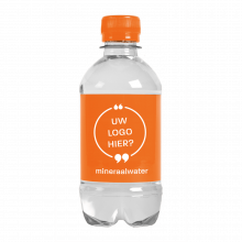 Bouteille d'eau | 330 ml | Eau Gazeuze | 433300pd Orange