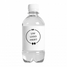 Bouteille d'eau | 330 ml | Eau Gazeuze | 433300pd Blanc