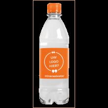 Bouteille d'eau | 500 ml | Eau gazeuze | 435000pd Orange