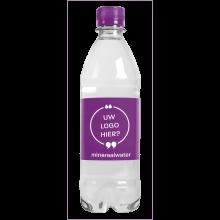 Bouteille d'eau | 500 ml | Eau gazeuze | 435000pd Violet