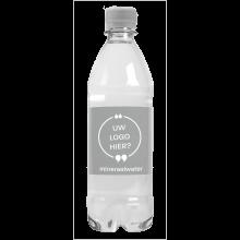 Bouteille d'eau | 500 ml | Eau gazeuze | 435000pd Argent