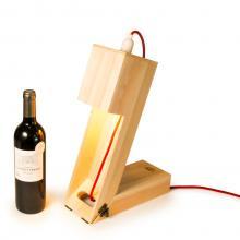Rackpack Winelight | Boîte à vin avec lampe de table