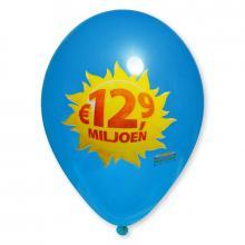 Ballon   30 cm   Quadrichromie   14a100FC Moyen bleu