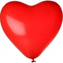 Ballon ''coeur'' | Couleur | Rapide | 14H80 Rouge
