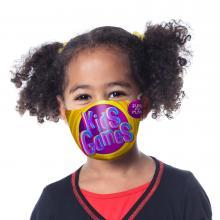 Masque de protection   Taille enfant 10-16 ans   Quadrichromie   40102