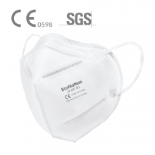 Masque FFP2 | 5 couches | Non imprimé | max172 Blanc