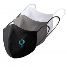 Masque réutilisable | 2 couches | Quadrichromie | max160