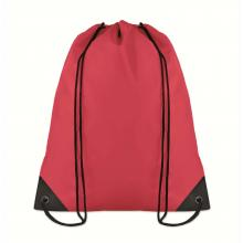 Sac à dos avec cordon | Polyester | Pas cher | Maxs021 Rouge