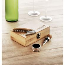 Coffret sommelier | En bambou | Vin excl.