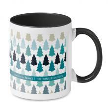 Mug quadrichromie | Intérieur coloré | 350 ml