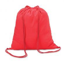 Sac à dos en coton | 100 gr/m2 | Coloré | 8798484 Rouge