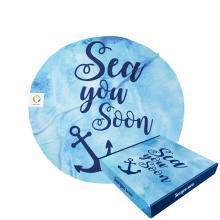 Sea you soon | 150 cm de diamètre | Boite cadeau & label en option