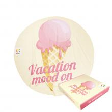 Ice cream | 150 cm de diamètre | Boite cadeau & label en option