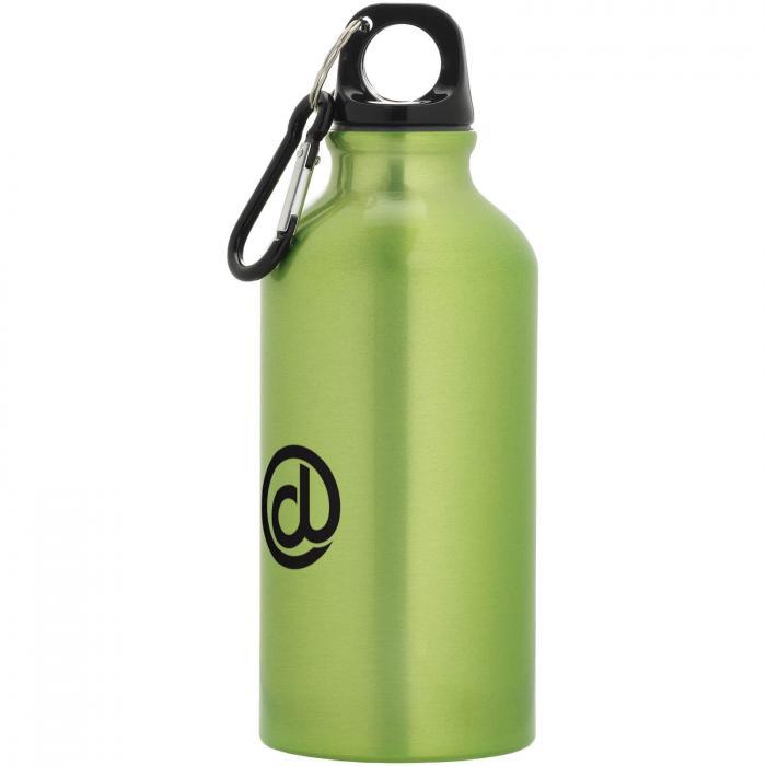 Gourde en aluminium | Mousqueton | 350 ml | 92100002