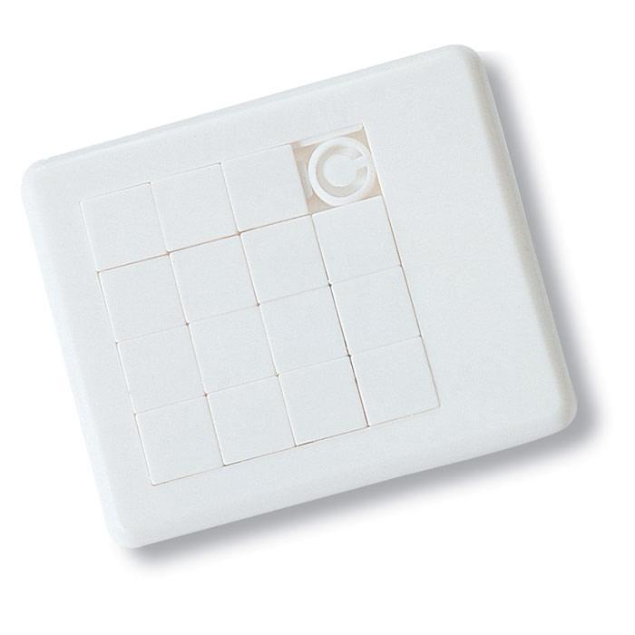 Puzzle   Plastique   Personnalisable    8754861 Blanc