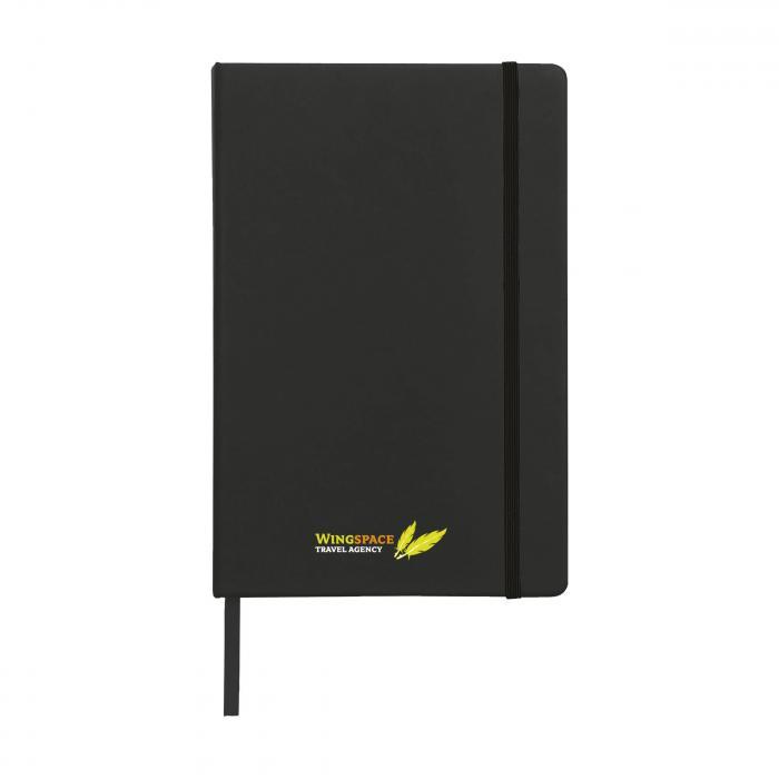 A5 | Carnet | 96 pages lignées | 735813 Noir