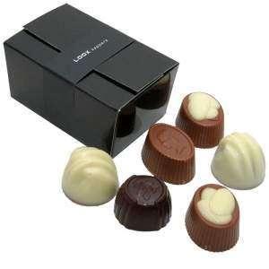 Boite chocolat | 6 chocolats | 611063