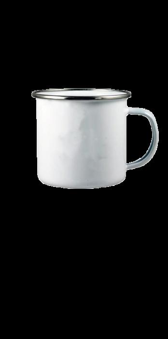 Mug émaillé | Grande surface d'impression | 300 ml | 4612302