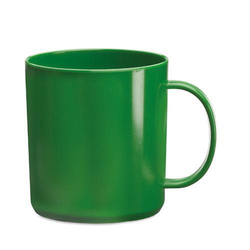 Mug   PP plastique   350 ml   maxp040 Vert