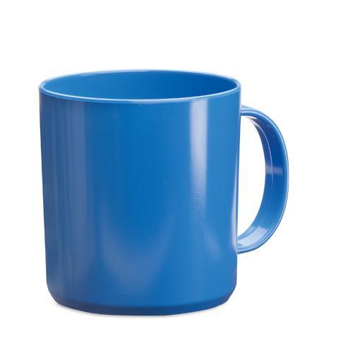 Mug   PP plastique   350 ml   maxp040 Bleu
