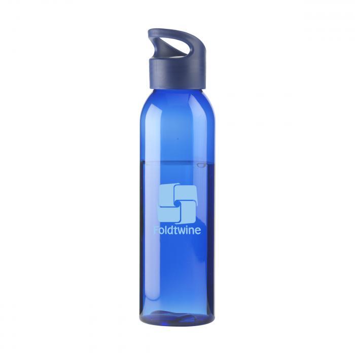 Bouteille d'eau   Tritan   Capuchon à vis   650ml   735226 Bleu