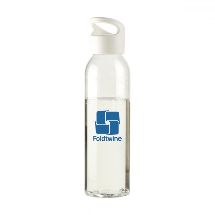 Bouteille d'eau   Tritan   Capuchon à vis   650ml   735226 Blanc