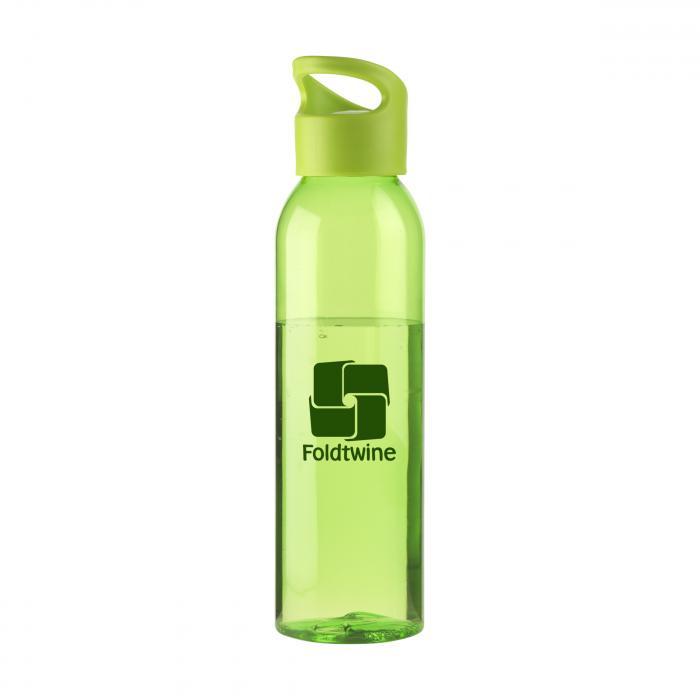 Bouteille d'eau   Tritan   Capuchon à vis   650ml   735226 Vert