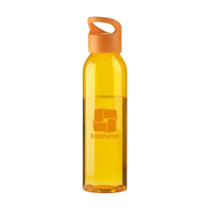 Bouteille d'eau   Tritan   Capuchon à vis   650ml   735226 Orange
