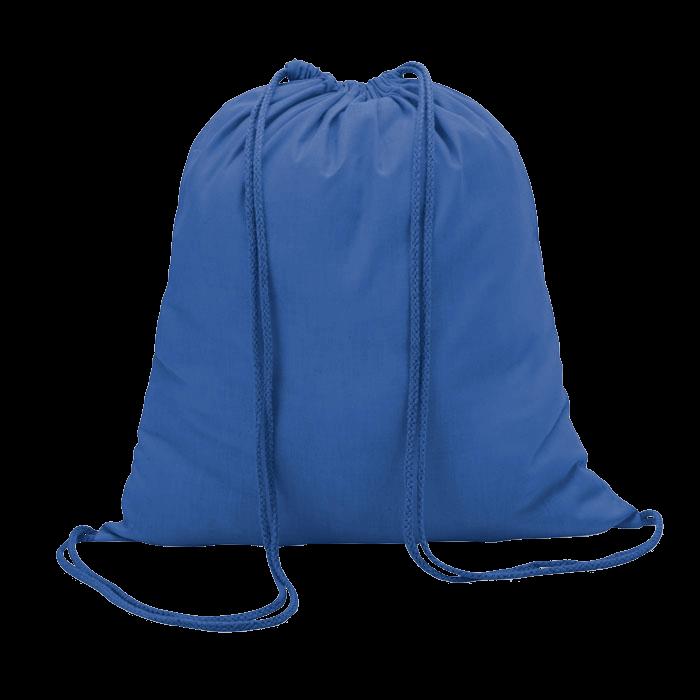 Sac à dos en coton | Coloré | 100 gr/m2 | 8798484 Bleu