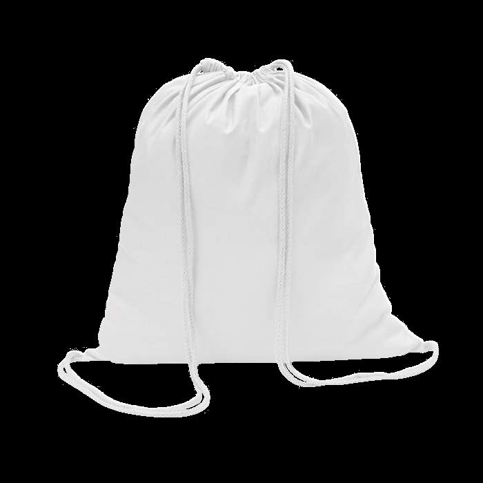 Sac à dos en coton | Coloré | 100 gr/m2 | 8798484 Blanc