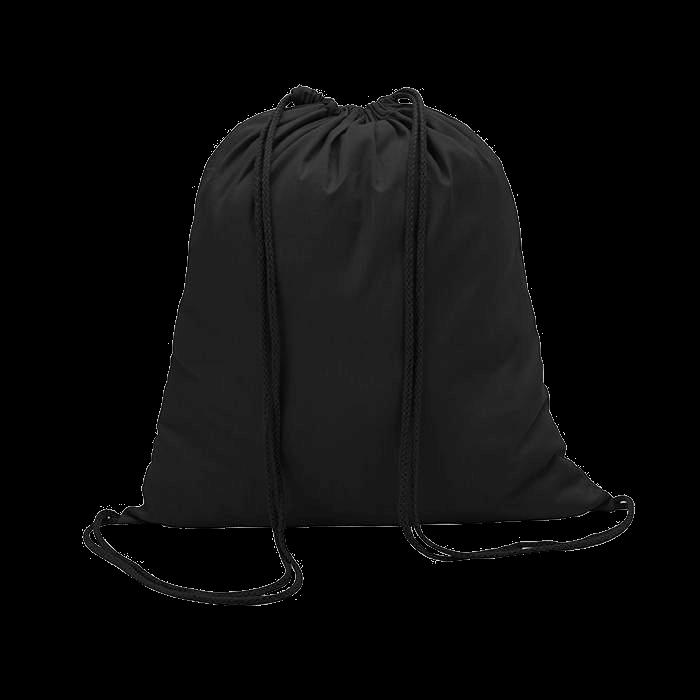 Sac à dos en coton | Coloré | 100 gr/m2 | 8798484 Noir