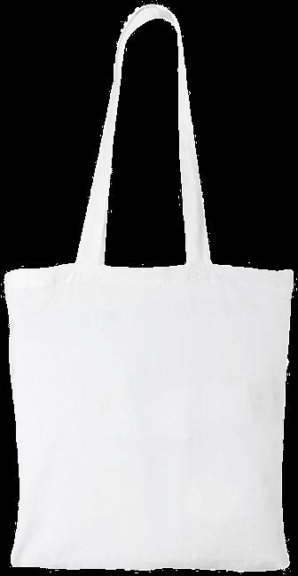 Sac en coton | Coloré | 140 gr/m2 | Rapide | max090 Blanc