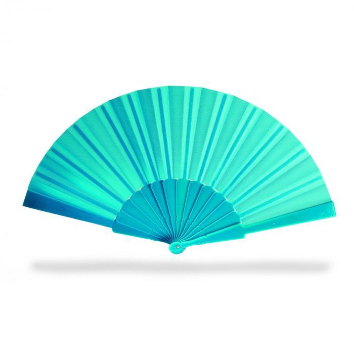 Éventail   Manche plastique   Livraison rapide   8756733 Bleu