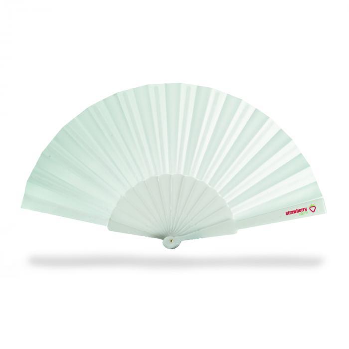 Éventail   Manche plastique   Livraison rapide   8756733 Blanc