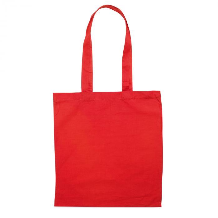 Sac en coton | Coloré | 140 gr/m2 | Rapide | max090 Rouge