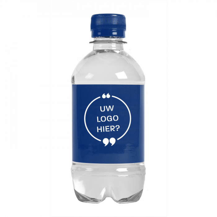 Bouteille d'eau | 330 ml | Eau Gazeuze | 433300pd Bleu