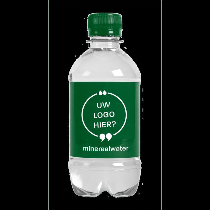Bouteille d'eau | 330 ml | Eau Gazeuze | 433300pd Vert