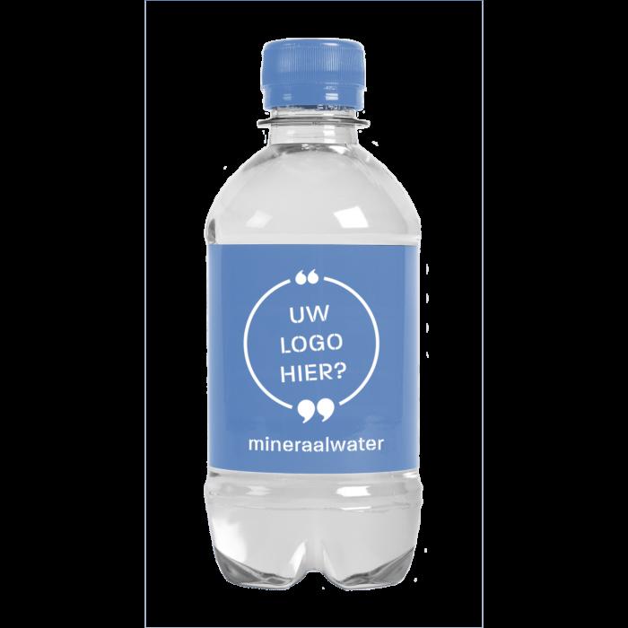 Bouteille d'eau | 330 ml | Eau Gazeuze | 433300pd Bleu Clair